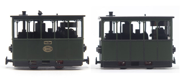 'Looks' upgrade kit Minitrains Henschel tramway GOSM and GS